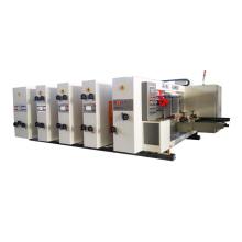 3 Color automatic lead edge flexo printer slotter Machine for carton box