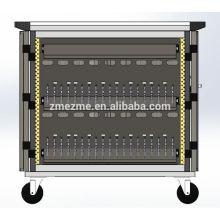 ZMEZME 36 Port Hub Tablet Ipad Charging Sync Trolley / Cart / Cabinet