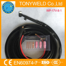 tig welding accessories tig torch air cooled wp-17v