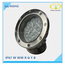 Защиты IP67 15W светодиодные Плавательный бассейн свет с управлением DMX