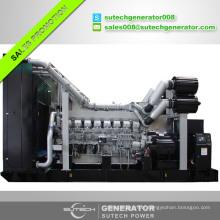 China supplier Japan original 850kw Mitsubishi engine diesel generator
