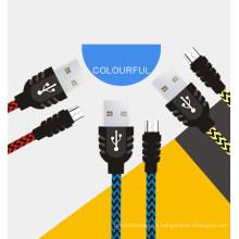 Transferência de cabo micro USB de android
