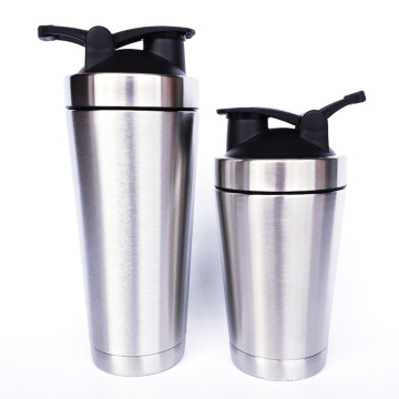 Stainless Steel Shaker Bottle Metal Insulated Shaker Bottle for Fitness