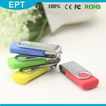 Movimentação colorida do flash do USB do tornado da venda superior com garantia de vida