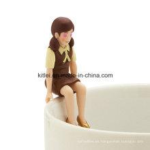 Venta al por mayor Edge of The Cup Figure ~ Chocolate Color Cup Edge Toy