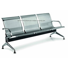 Ожидания стали стул стул аэропорт для нержавеющей общественных