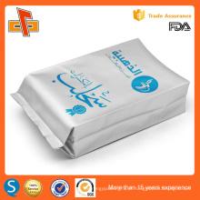 OEM folha de alumínio laminado de impressão café personalizado feijão gusset saco 250g