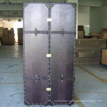Tourbon новое поступление hign качество колеса для старинные старый деревянная мебель дисплея багажник