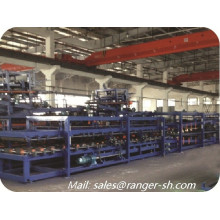EPS Insulated sandwich panel roll forming machine wall panel production line