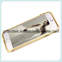 Bling Diamond Metal Aluminum Bumper Case for iPhone6