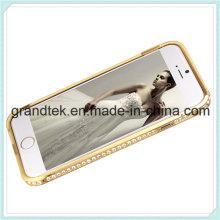 Побрякушки Алмаз металлический корпус Алюминиевый бампер для iphone6