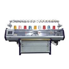 QL-52C de alta velocidad de diseño nuevo carro doble sistema automático suéter plana máquina de tejer