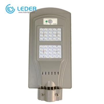 Luces de calle solares de ciudad integradas LEDER