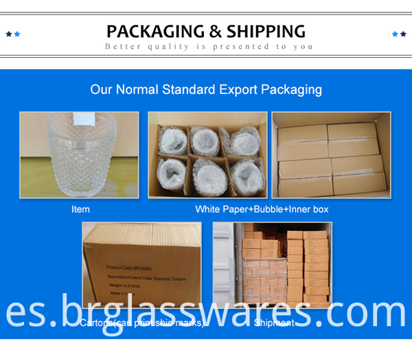 goblet glass cup normal packing
