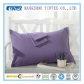 High Quality Cotton Plain Dyed Pillow Case with Bright Color Beautiful Pillow Case