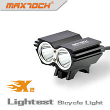 Maximoch X2 2000 Lumens LED inteligente Luz de bicicleta retro