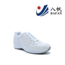 Mulheres moda casual tênis de corrida plana (bfj4203)