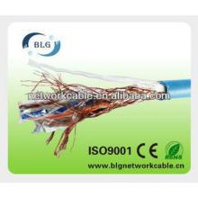Braiding al-frustrado sftp cabos de rede LAN cabo com bom preço