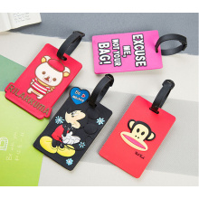 Custom PVC Travel Bag Tags