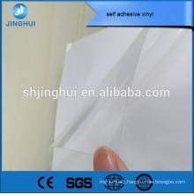 pvc waterproof vinyl sticker provided by factory