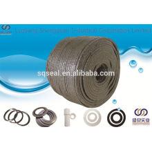 Emballage carré tressé de graphite PTFE
