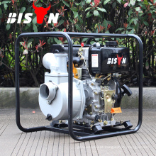 BISON China Taizhou BSDWP30B 5hp 80mm 3inch grande deslocamento forte motor diesel bomba de água diesel