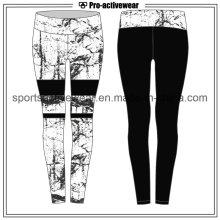 OEM 2016 dernière conception sublimation imprimerie femmes sport pantalons de yoga