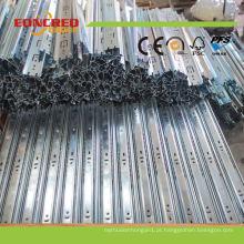 Corrediça profissional chinesa da gaveta do rolamento de esferas de 3 do fabricante
