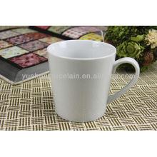 Copa da China fábrica de porcelana branca copos canecas por atacado
