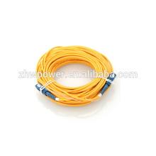 Jumper de cabo do cabo do remendo da fibra óptica, SC UPC SM G657A2 Simplex 2mm 200M para o transporte livre