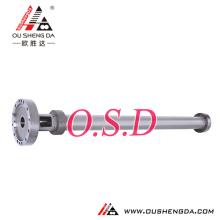 Barril de cilindro de doble tornillo doble simple para extrusora de película de burbujas de aire XPS PE LLDPE soplado de película CO2-XPS espuma MX-B100D ZHOUSHAN M