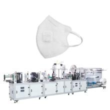 Máquina de fabricação de máscara contra poeira plana dobrada KF94