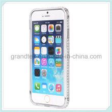 Luxury Dimond Design Bling Crystal Diamond Rhinestone Bumper Case for iPhone6