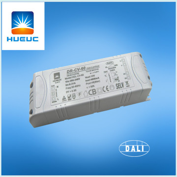 60w plastic dali dimmable led driver