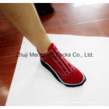 Homme de fantaisie coton chaussure chaussettes très Fashion Design à l'instar de chaussures sur pieds
