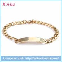 Bracelet en acier inoxydable en acier inoxydable 2015 Bracelet en acier titane en acier Bracelet Hallowmas