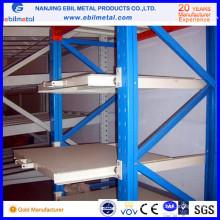Заводская цена с высокой загрузкой Q235 Стойка стойки / ящика для ящиков / Sild Racking