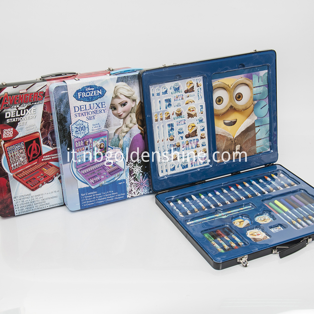 Deluxe Metal Case Stationery Assorted