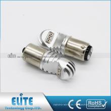 Piezas de automóviles de alta potencia 1157 F1 750LM 30W LED Luz de freno Bombillas blancas puras