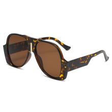 Hip Hop Sunglasses Personality Oval Irregular Sunglasses for Men Women