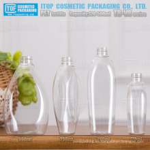 Serie TB-VB 120ml 250ml 280ml 500ml hermoso diseño oem servicio alta calidad precio competitivo del animal doméstico botella de plástico transparente