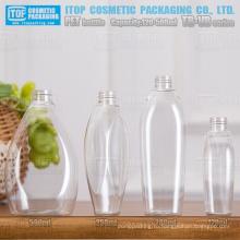 ТБ-VB серии 120 мл 250ml 280 мл 500 мл красивый дизайн oem службы высокого качества конкурентоспособная цена ПЭТ прозрачная пластиковая бутылка