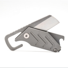 Minimalist Titanium Folding Mini Size Utility Pocket Knife