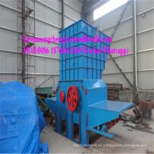 Trituradora de madera del tocón Trituradora de tambor móvil Trituradora eléctrica del motor diesel