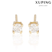 23550-Xuping Jewelry Fashion New Stud Pendiente para mujer