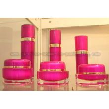 15g 30 г 50 г розовой круглой формы акриловые косметические контейнеры