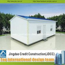 Installation facile de maisons préfabriquées modulaires