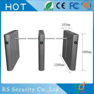 Lector de huella dactilar Bank Drop Turnstile Door