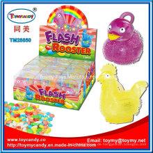 Heißes verkaufendes Ostern-Huhn und Enten-Spielzeug mit süßer Süßigkeit
