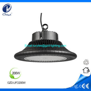 200W impermeable led UFO alta bahía